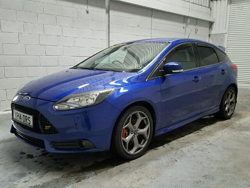 Salvage Cars 2014 Ford Focus St 2 In Auction Copart Ireland